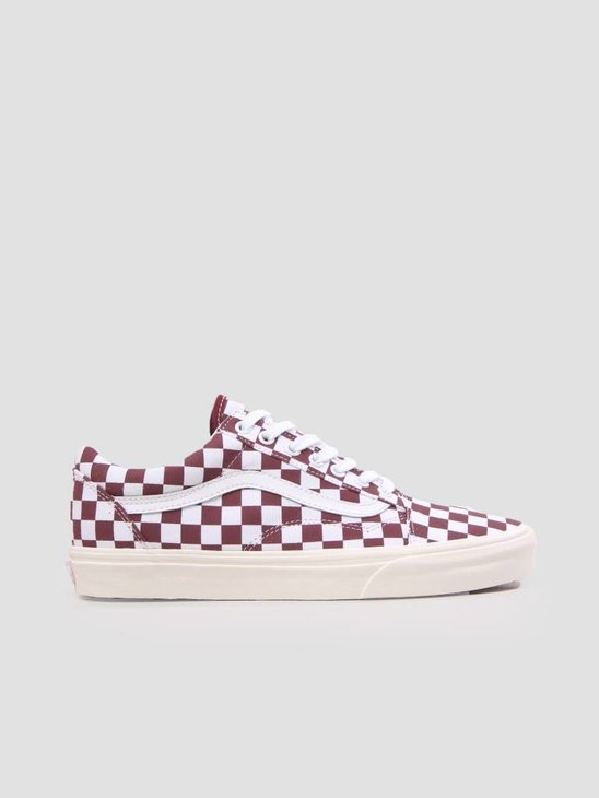 Vans Ua Old Skool Checkerboard Port Royale Marshmallow VN0A38G1U541