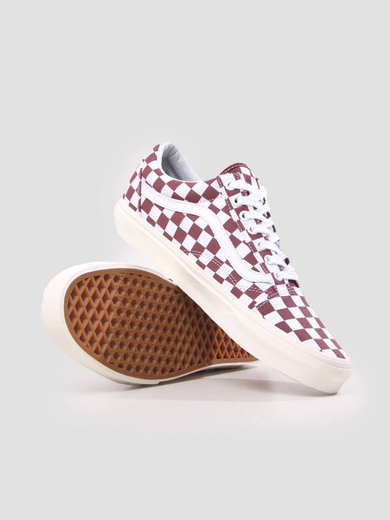 Vans Vans Ua Old Skool Checkerboard Port Royale Marshmallow VN0A38G1U541