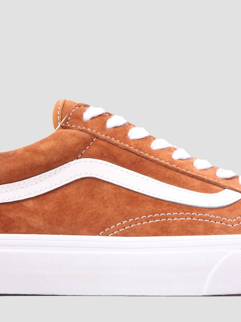 Vans Vans Ua Old Skool Leather Brown True White VN0A38G1U5K1