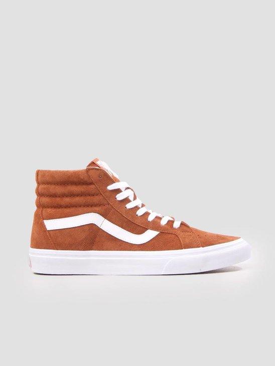 Vans Ua Sk8-Hi Reissue Leather Brown True White VN0A2XSBU5K1