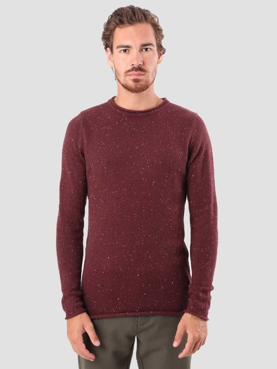 RVLT Ubbe Knit Bordeaux 6006