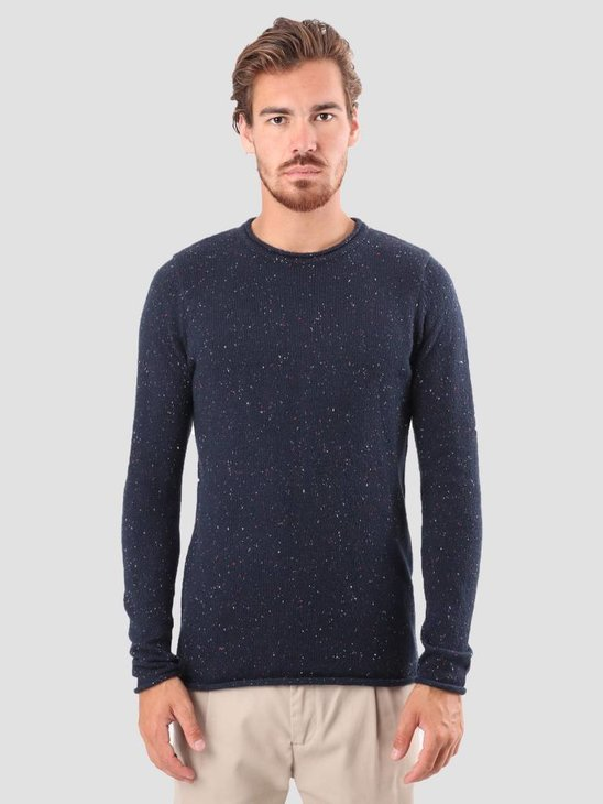 RVLT Ubbe Knit Navy 6006