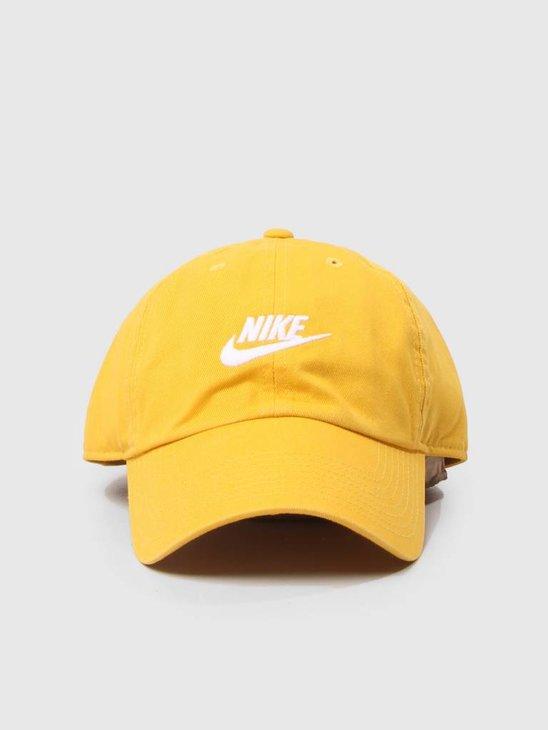Nike Unisex  Sportswear H86 Cap Yellow Ochre Yellow Ochre White 913011-752