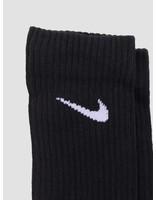 Nike Nike Unisex Nike Perfect Cushion Crew Training Sock 3 Pair Black White SX4700-001
