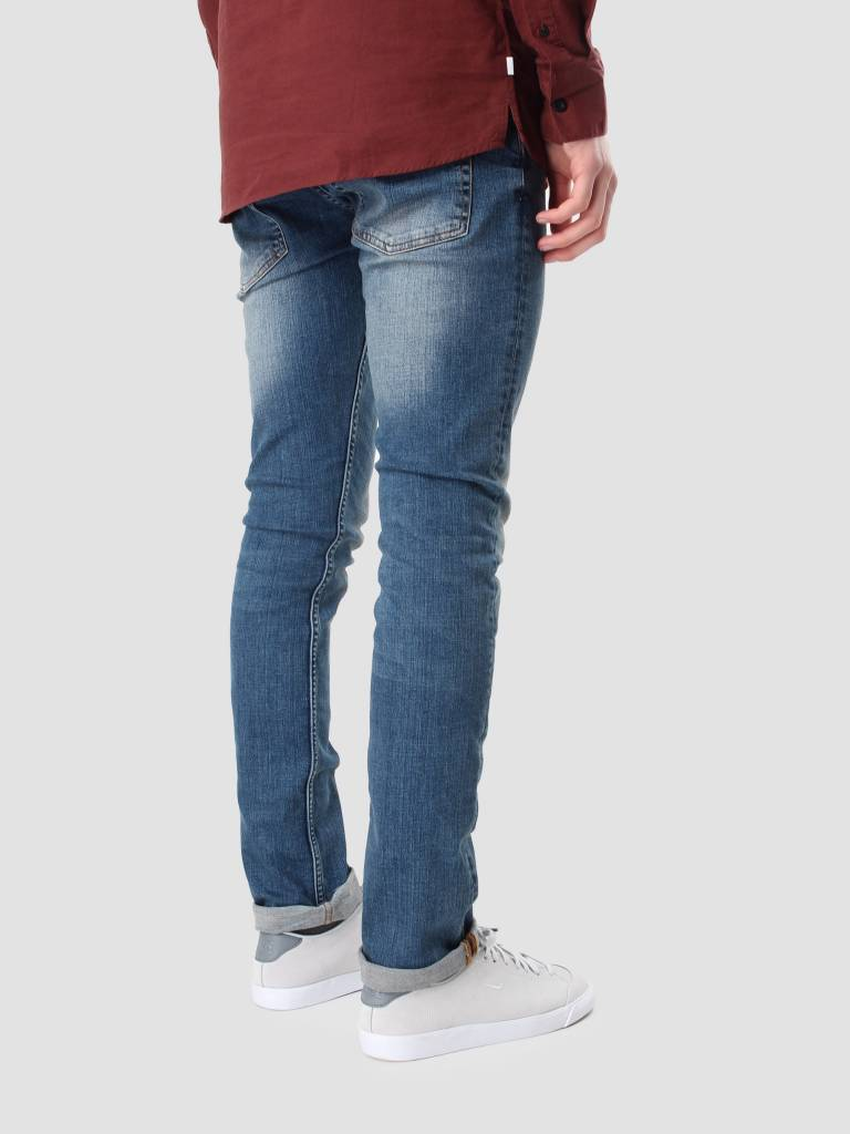 RVLT RVLT Used Jeans Slim Blue 5103