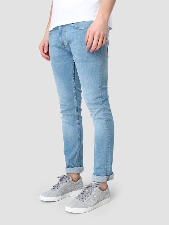 RVLT Used Wash Denim Slim Light Blue 5109 Slim