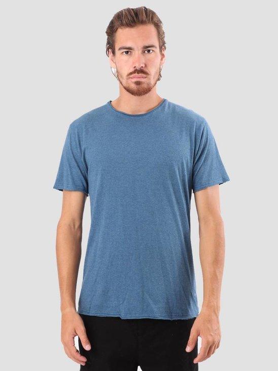 RVLT Vilfred T-Shirt Blue Mel 1003