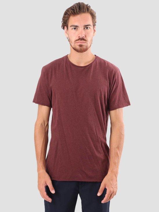 RVLT Vilfred T-Shirt Bordeaux M 1003