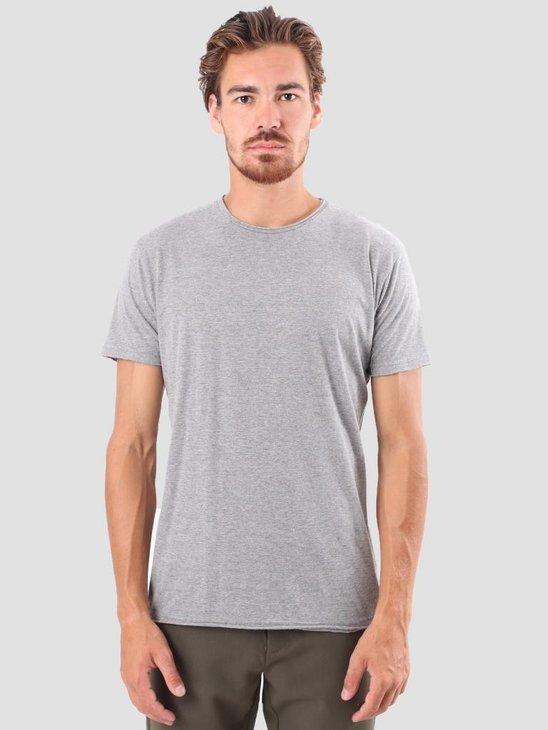 RVLT Vilfred T-Shirt Grey Mel 1003
