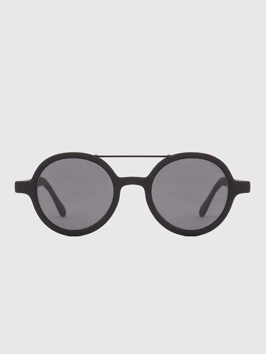 Komono Vivien Metal Series Sunglasses Black