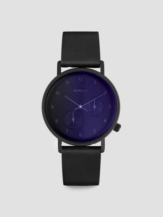 Komono Walther Watch Midnight KOM-W4033