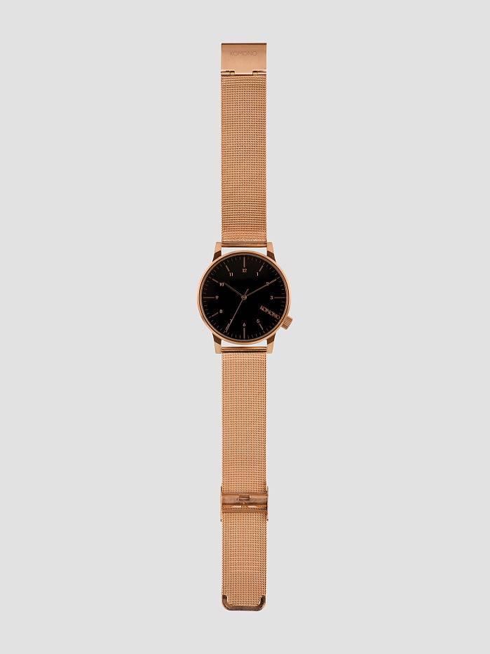 Komono Komono Winston Royale Rose Gold Black Kom-W2354
