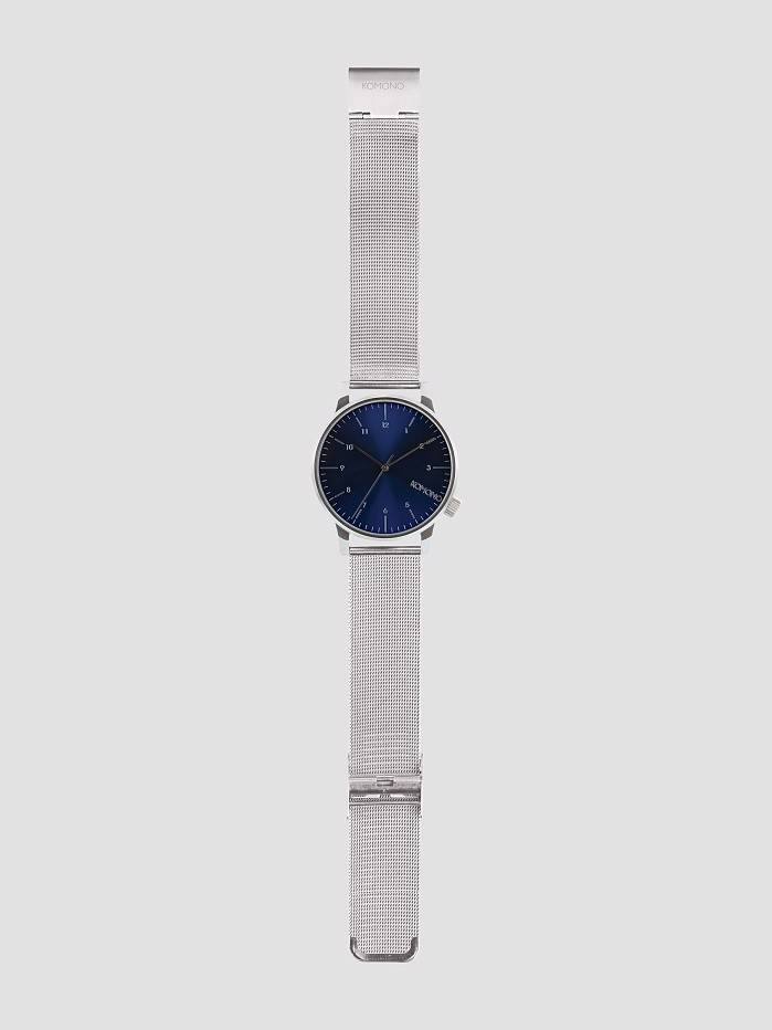 Komono Komono Winston Royale Silver Blue Kom-W2353