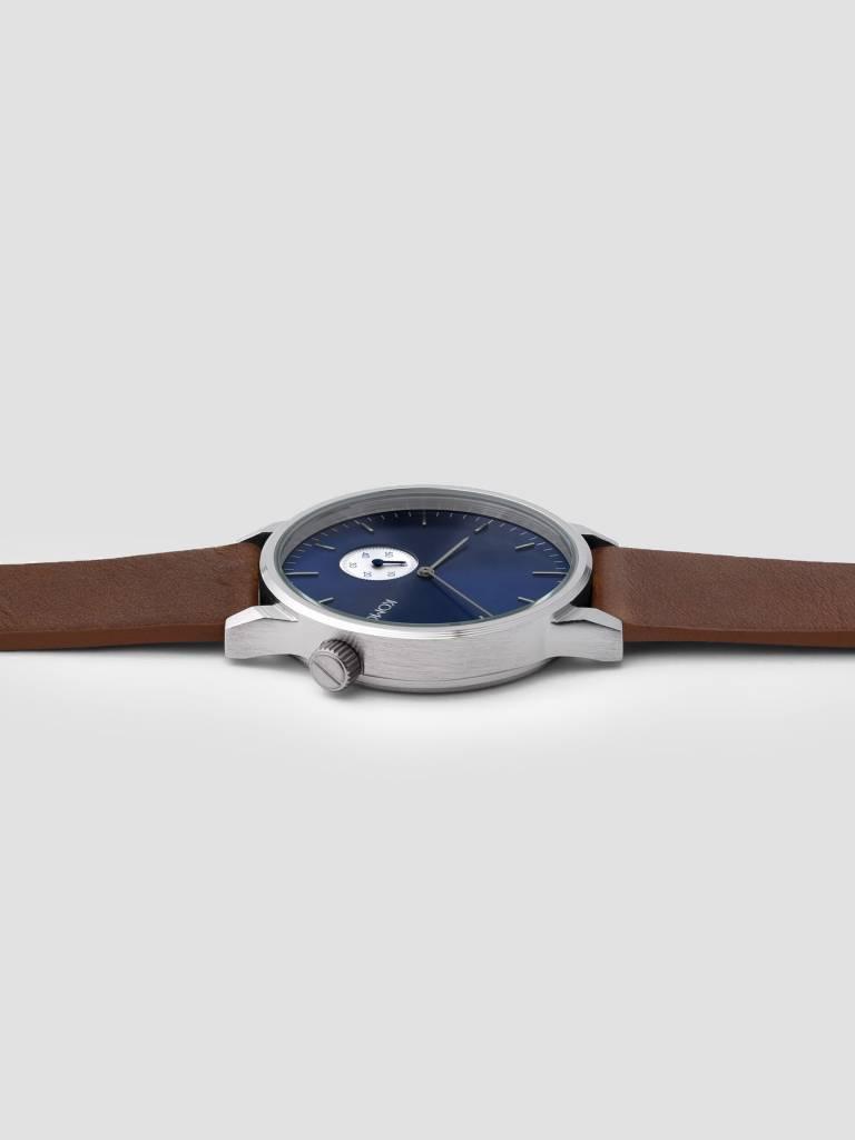 Komono Komono Winston Sub Blue Cognac Watch KOM-W3003