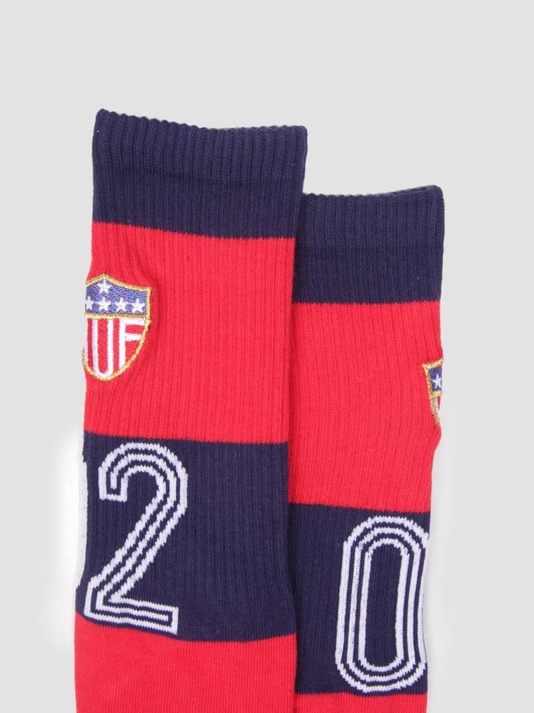HUF HUF Worldcup Play Maker Crew Socks Red SK00295