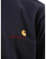 Carhartt Carhartt American Script T-Shirt Dark Navy I025711-1C00