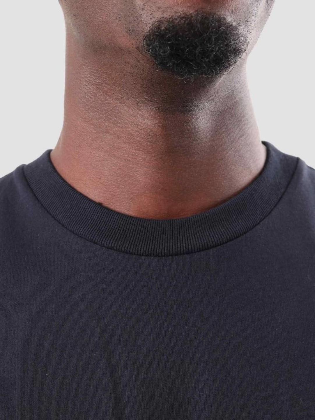 Carhartt WIP Carhartt WIP American Script T-Shirt Dark Navy I025711-1C00