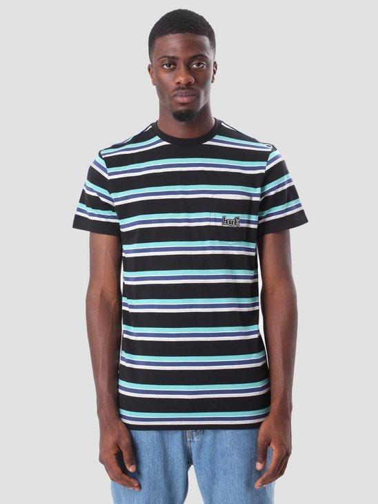 HUF 1993 Stripe T-Shirt Black KN00045
