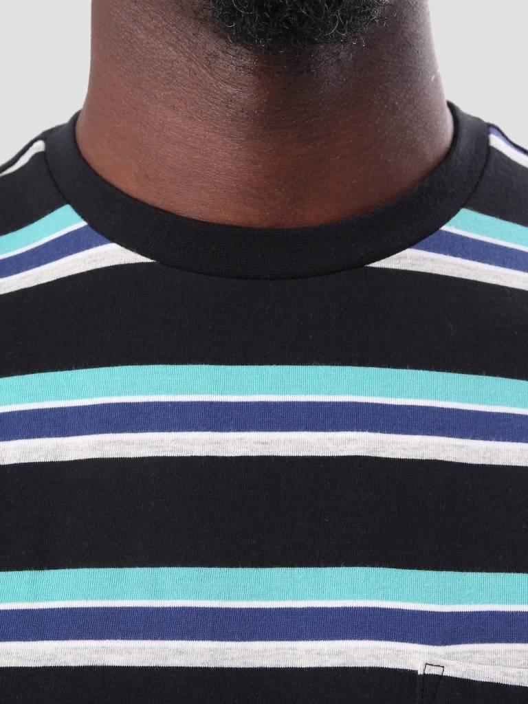 HUF HUF 1993 Stripe T-Shirt Black KN00045