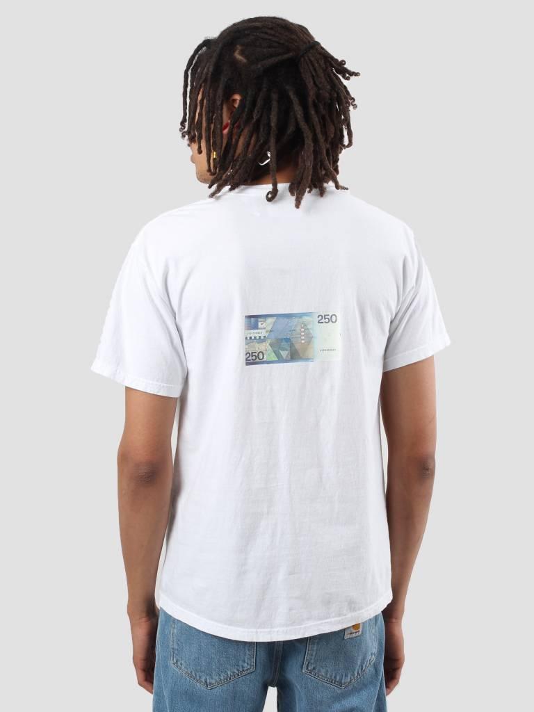 Genuine Fake Genuine Fake 250 Gulden T-shirt White