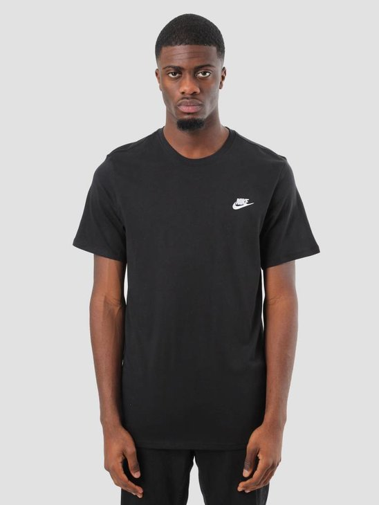 Nike NSW T-Shirt Black White 827021-011