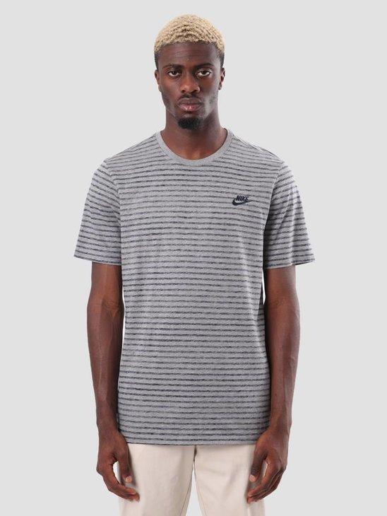 Nike Sportswear T-Shirt Carbon Heather Obsidian 927456-091