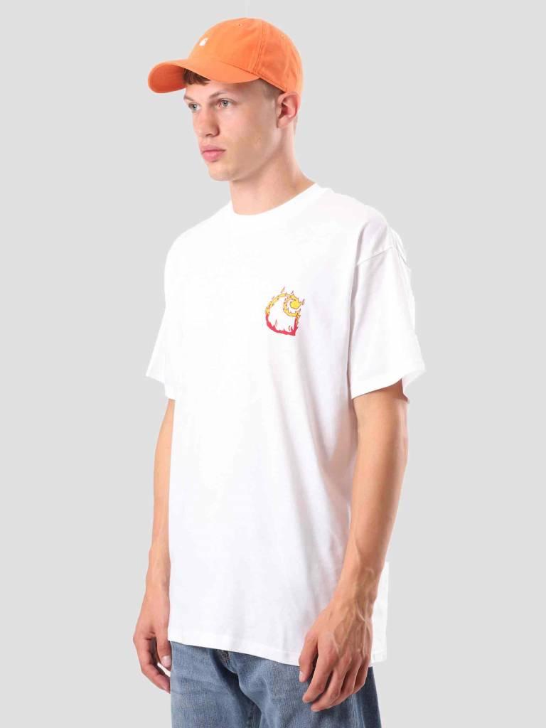 Carhartt WIP Carhartt WIP Burning C T-Shirt White I025760-200
