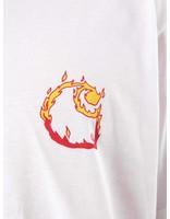 Carhartt Carhartt Burning C T-Shirt White I025760-200