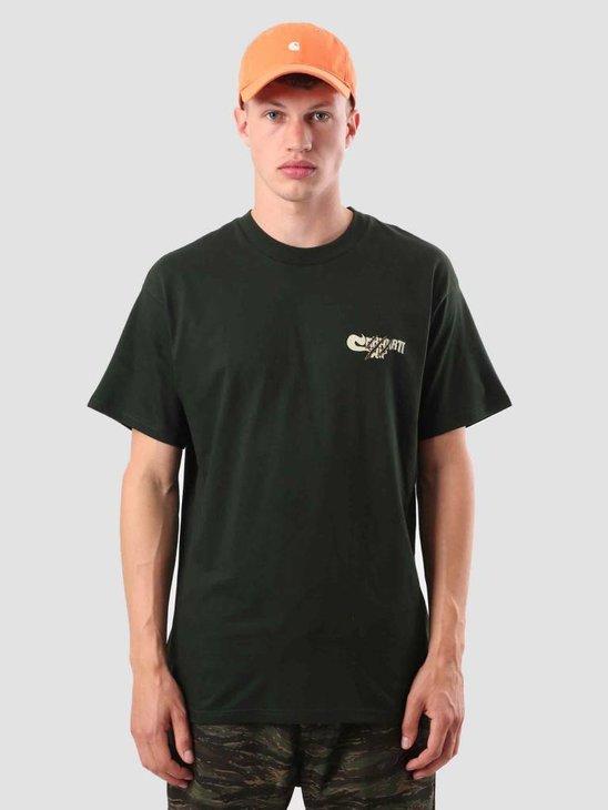 Carhartt WIP Scratch T-Shirt Loden I025352-88500