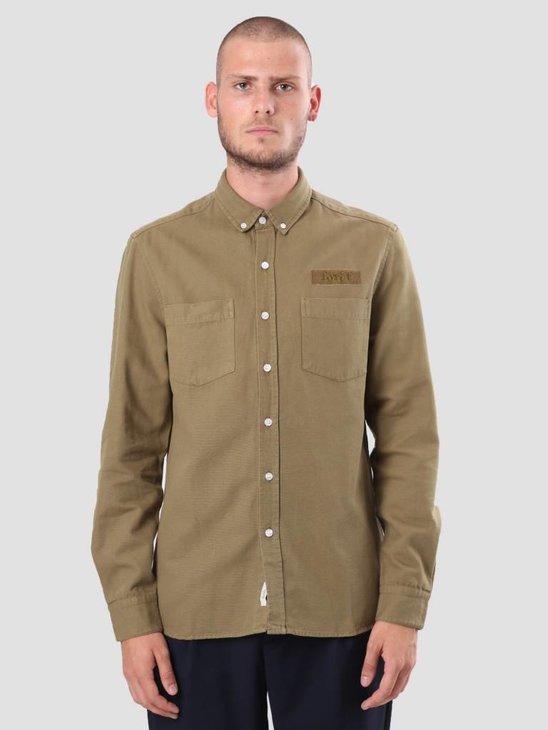 Foret Bear Shirt Olive F037