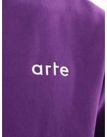Arte Antwerp Arte Antwerp Carter Heavy Turtleneck Purple AW18-042