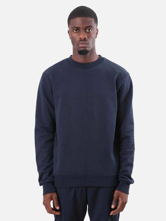 Arte Antwerp Cole Crewneck Navy Blue AW18-012