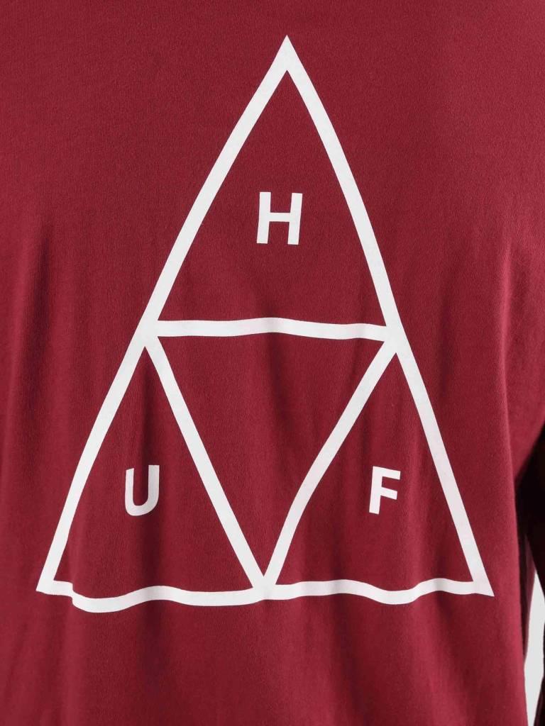 HUF HUF Essentials TT Longsleeve Terra Cotta TS00506