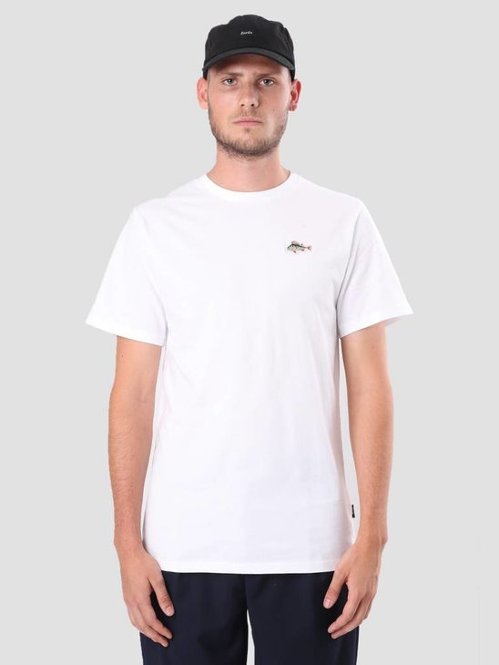 Foret Fish T-Shirt White F107