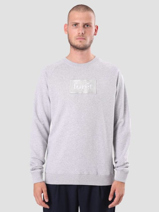 Foret Float Sweatshirt Light Grey Mel. F101