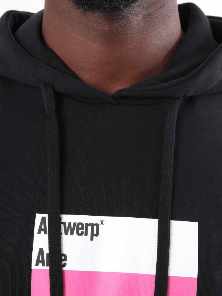 Arte Antwerp Arte Antwerp Harris Hoodie Black AW18-017