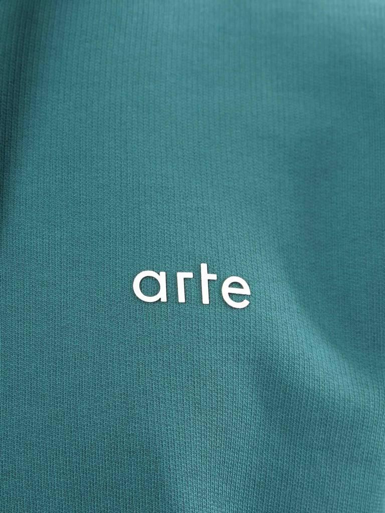 Arte Antwerp Arte Antwerp Hudson Hoodie Green AW18-020