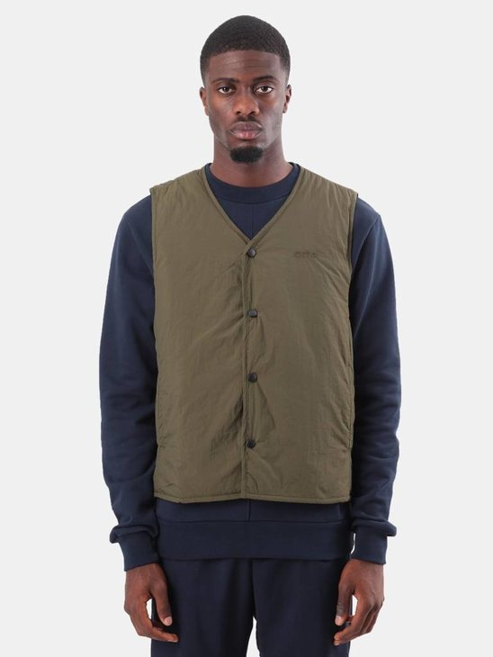 Arte Antwerp Janga Sleeveless Jacket Green AW18-035