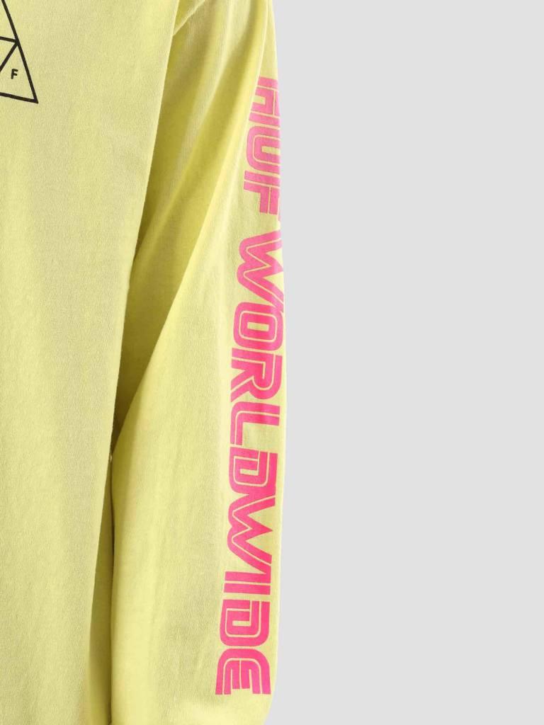 HUF HUF Neo TT Longsleeve Super Lemon TS00358