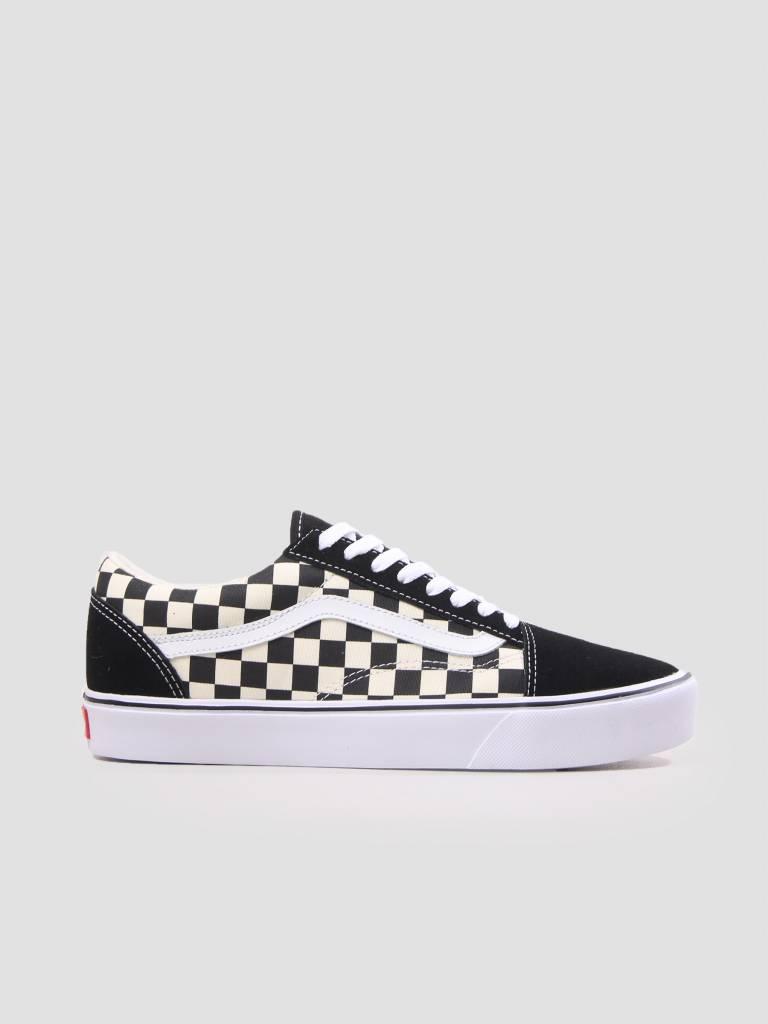 7e59b8afa7a0 Vans Old Skool Lite Checkerboard Black White Va2Z5W5Gx - FRESHCOTTON