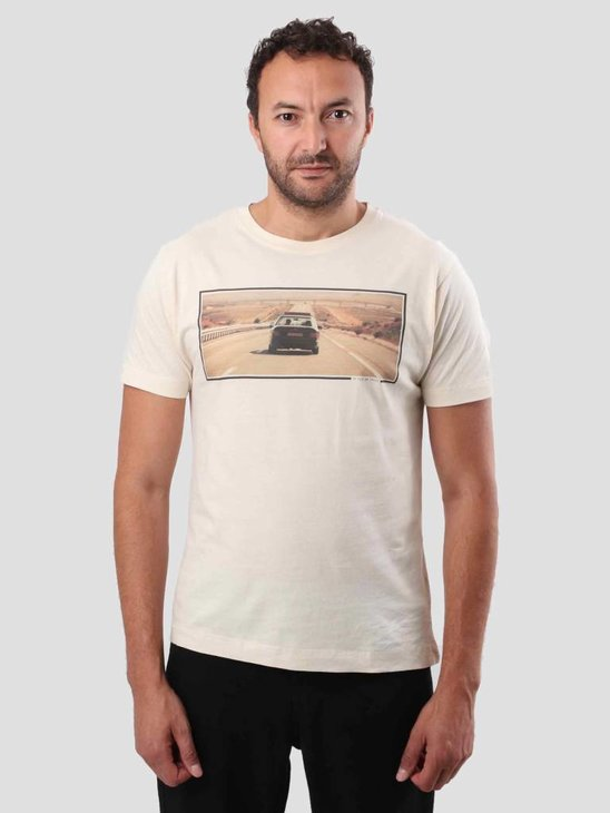 New Amsterdam Film Company Rabat Movie T-Shirt Beige