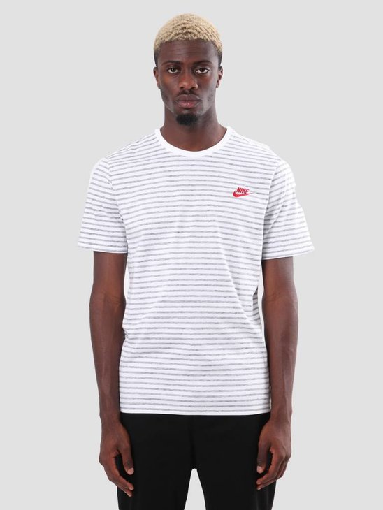 Nike Sportswear T-Shirt White University Red 927456-100