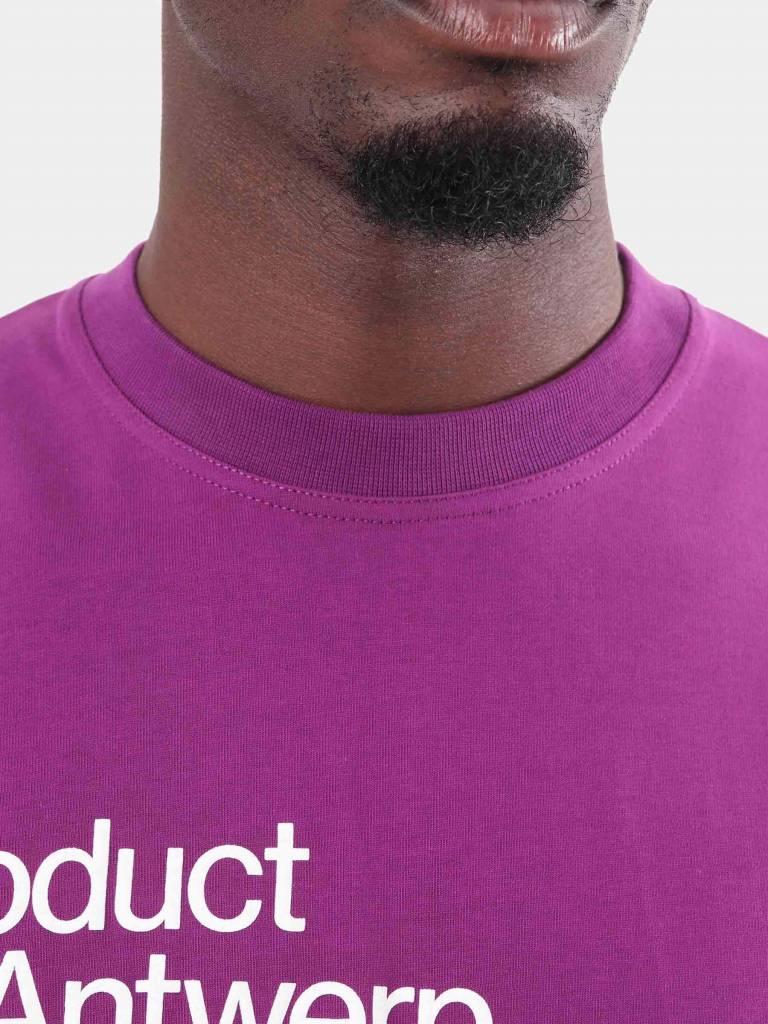 Arte Antwerp Arte Antwerp Tommy T-Shirt Purple AW18-009