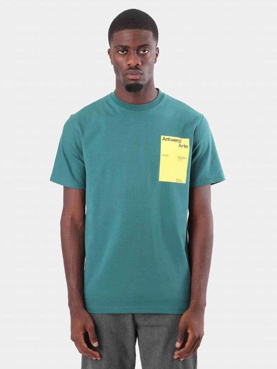 Arte Antwerp Tony PP T-Shirt Green AW18-008