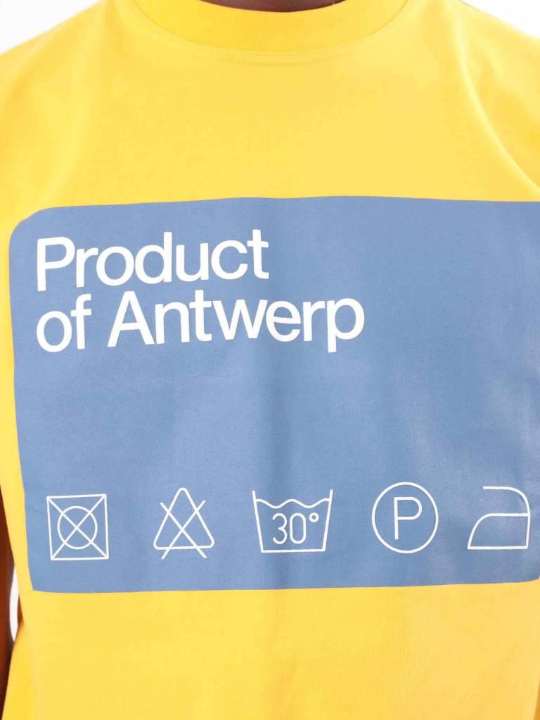 Arte Antwerp Arte Antwerp Tony Preb T-Shirt Citrus AW18-003