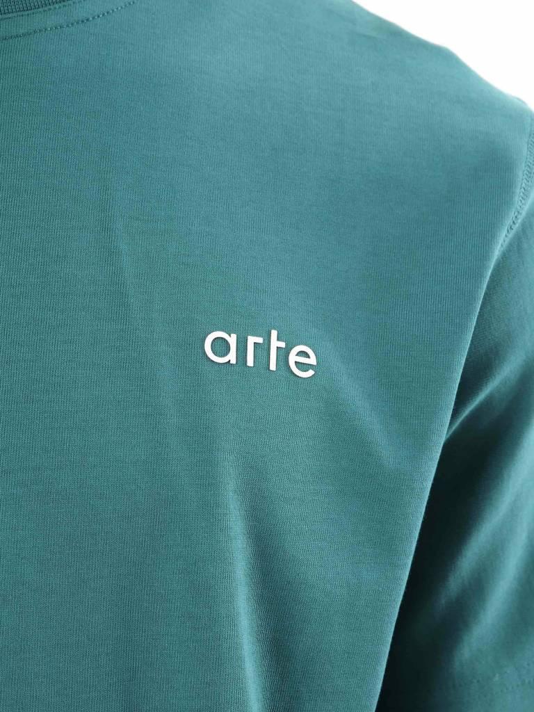 Arte Antwerp Arte Antwerp Tony T-Shirt Green AW18-001