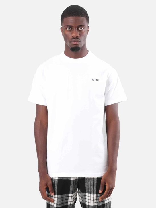 Arte Antwerp Tony T-Shirt White AW18-001