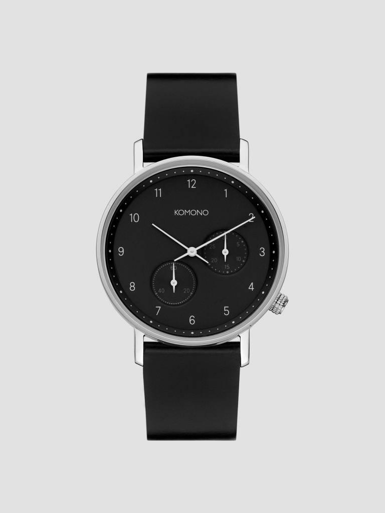 Komono Komono Walther Black Silver Kom-W4035