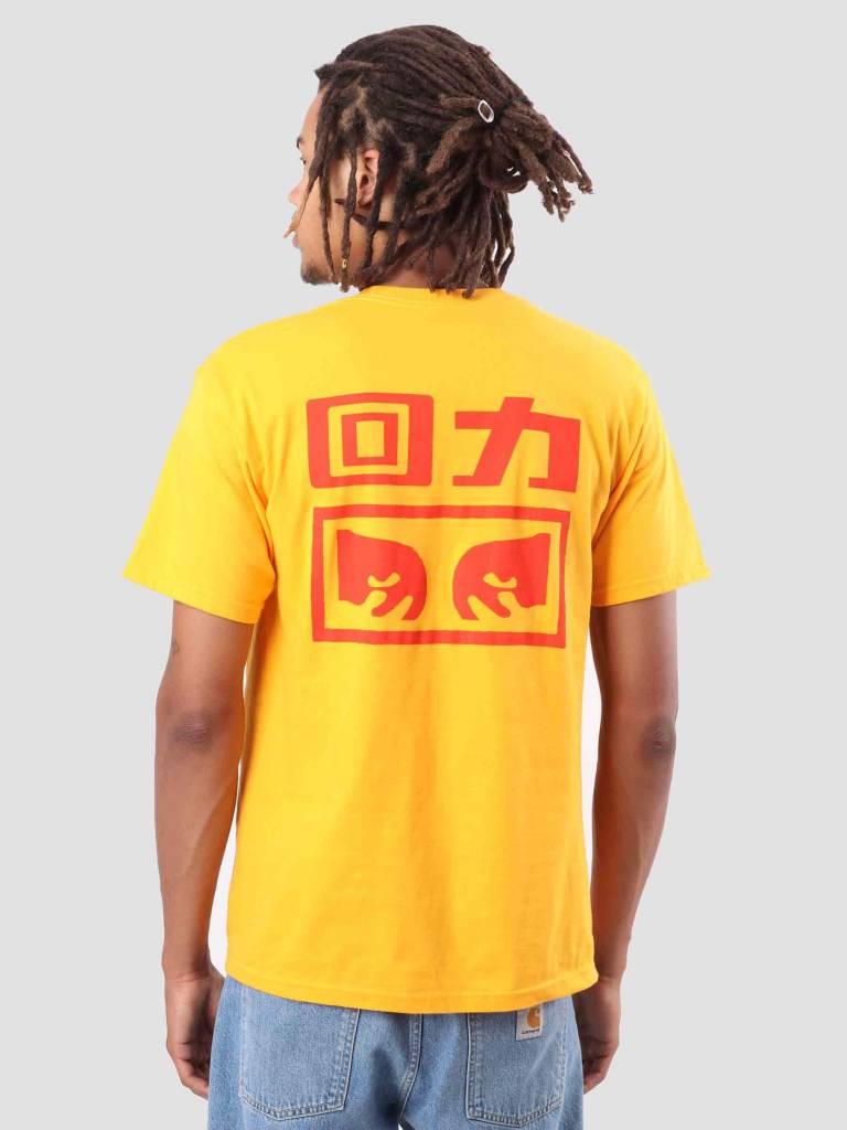 Warrior Warrior X OBEY T-Shirt Gold 163081947