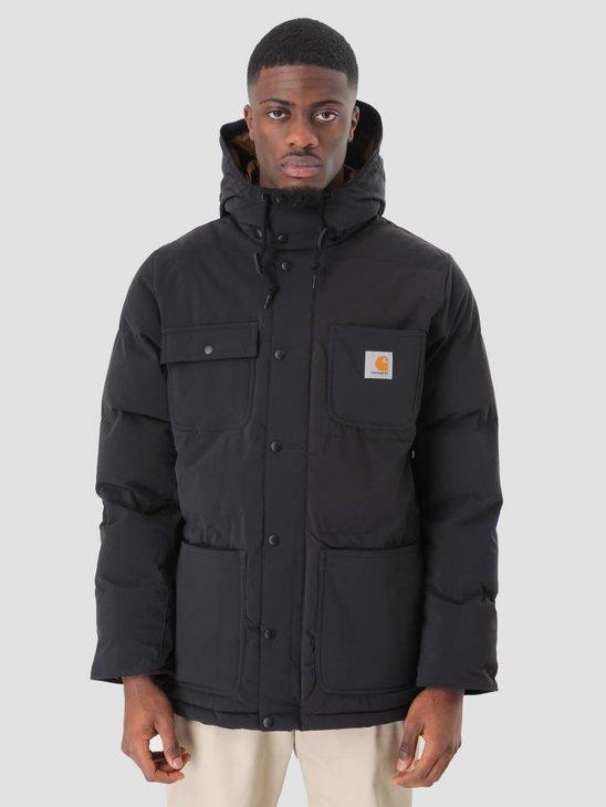 Carhartt Alpine Jacket Black Hamilton Brown I023081